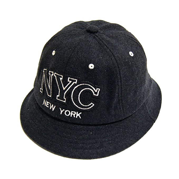 7d23f49ebc3 HCONECTION H Connetion Mens Womens NYC New York Embroidery Trends Daily Sun  Protection Woolen Bucket Hats