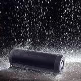 ELlight Portable Wireless Bluetooth 4.0 Outdoor Shower Speakers Double Loudspeaker Subwoofer IPX5 Waterproof Led Flashlight Built-in Mic FM Radio
