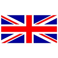 My Planet Large 5'x3' Union Jack Flag Premium Quality Great Britain British Supporter Fans Decoration Flag