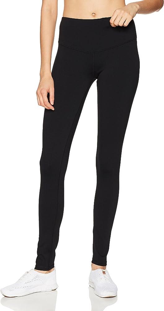 "d76bbb360edc8 Starter Women's 29"" High-Waisted Performance Workout Legging, Amazon  Exclusive, Black,"