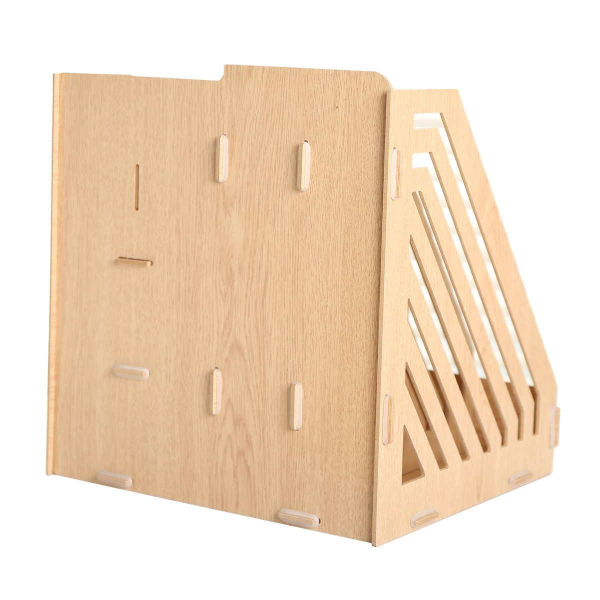 Hensych® Detachable Desktop Storage Box Wooden Board DIY Organizer ...
