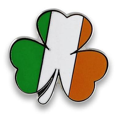 b8f2e3cf71dc1 Irish Flag TriColor Shamrock Enamel Lapel Pins-- Saint Patrick s Day Pins  (Wholesale)