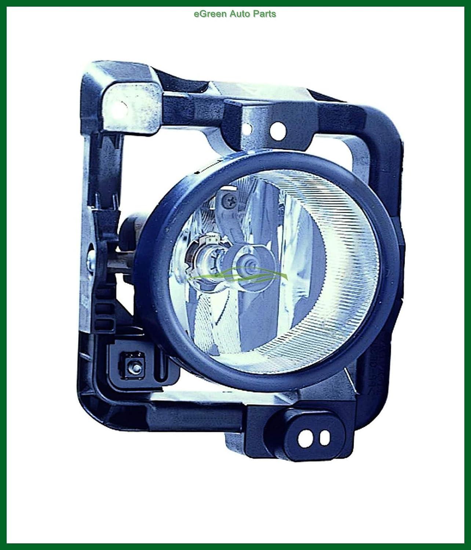 LH+RH For ACURA TSX 2009-2010 Fog Light Lamp with Bulbs Foglight Cover