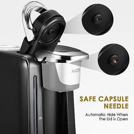 Amazon.com: Aicok, cafetera individual. Cafetera elé ...