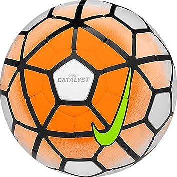 Nike Catalyst Soccer Ball (White, Total Orange)