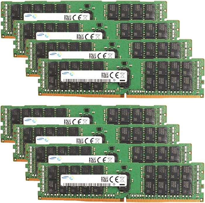 Samsung Memory Bundle with 256GB (8 x 32GB) DDR4 PC4-19200 2400MHz Memory Compatible with Dell PowerEdge R430, R630, R730, R730XD, T430, T630 Servers