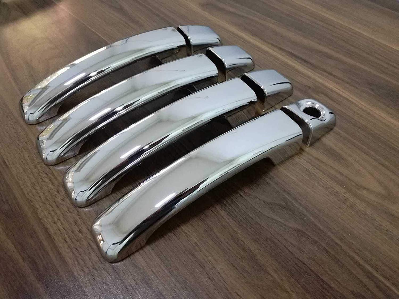TALENTO//MOVANO//VIVARO ABS Chrome Door Handle Covers 4 Doors 1 holed