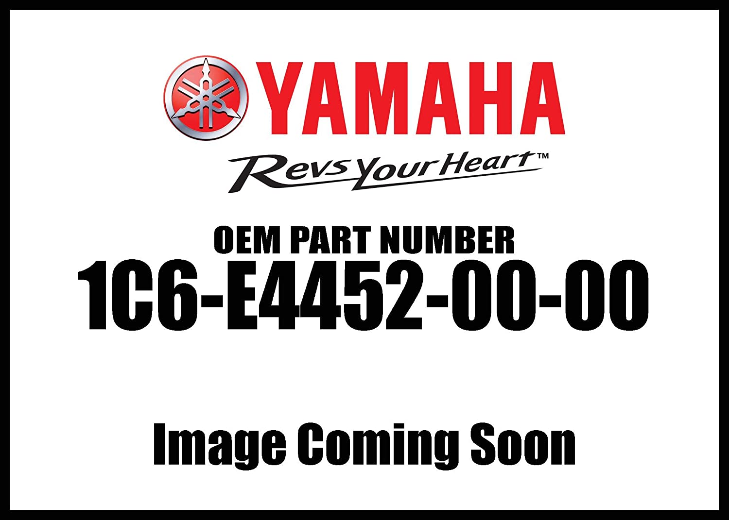Yamaha 1C6-E4452-00-00 Seal; 1C6E44520000 Made by Yamaha