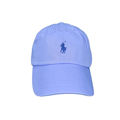 dc5b5182c60dec Casquette basique Ralph Lauren bleu ciel pour mixte  Amazon.fr ...