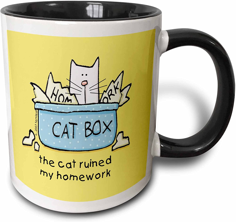 Pitbull Dog Mug Cartoon Pop-Art Coffee Tea Cup 11oz Ceramic Pit Bull