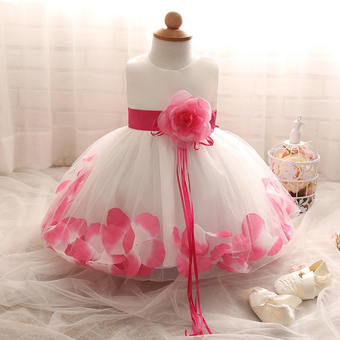 ADHS - Vestido de princesa para recién Blanco, princesa 19992 nacido ...