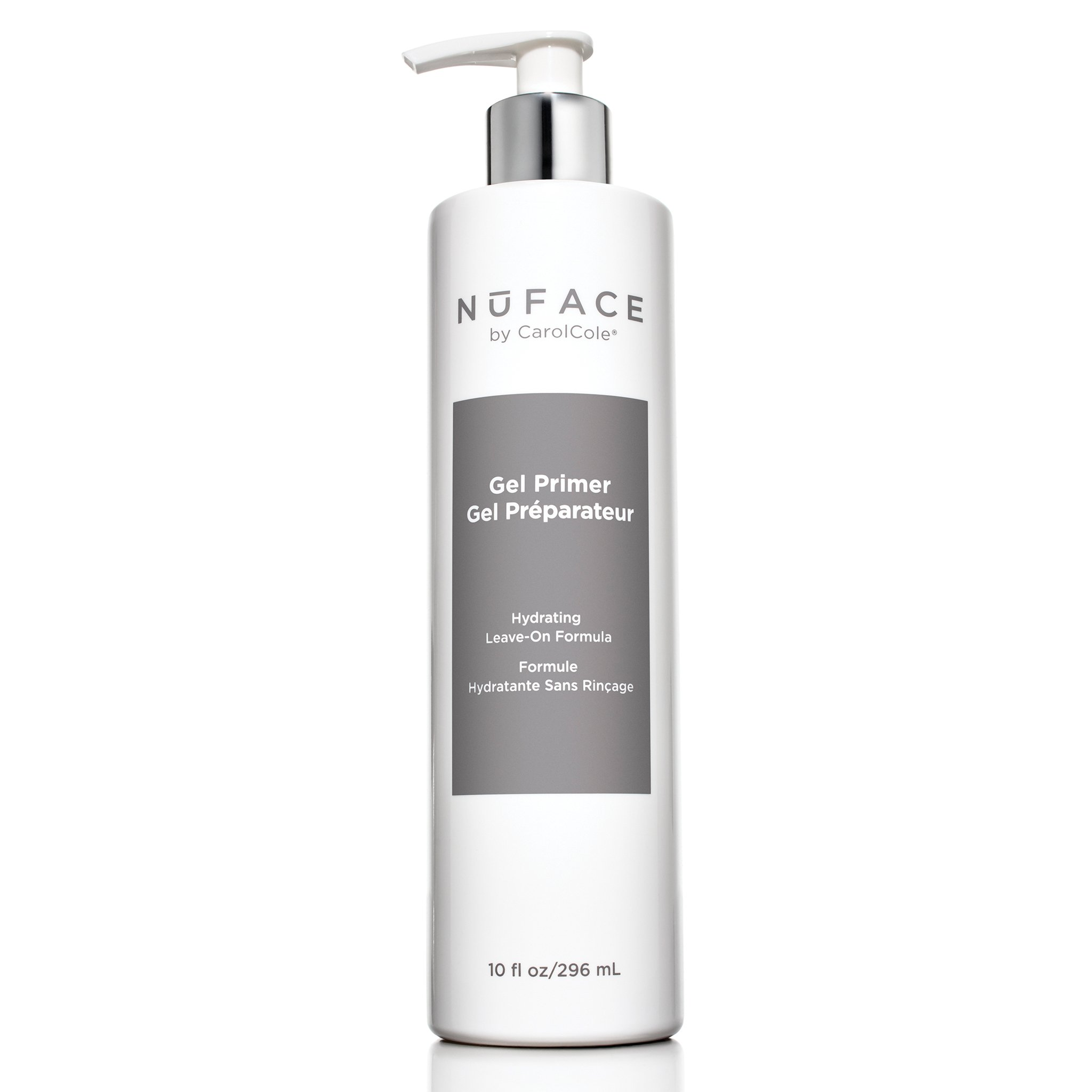 NuFACE Hydrating Leave-On Gel Primer | Use with NuFACE Device | Smooths Skin, Reduce Wrinkles | Lightweight Application | 10 Fl Oz by NuFACE