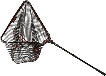 Kescher Aluminium 2,05 Meter Monofil-Nylon-Netz Unterfangskescher Angelkescher Kapfen Teleskop Stange Netz klappbar