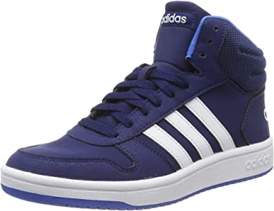 adidas Hoops Mid 2.0 K, Chaussures de Basketball Mixte Adulte