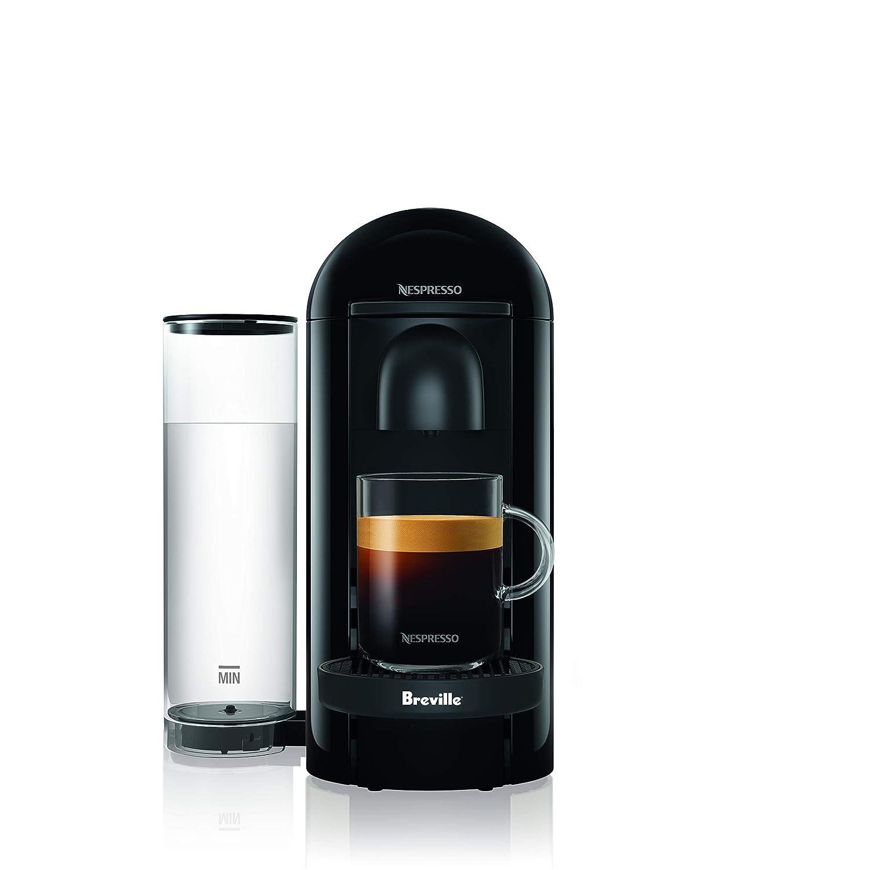 Breville BNV420IBL1BUC1 Nespresso VertuoPlus Solo Ink Black single-serve, capsule espresso maker