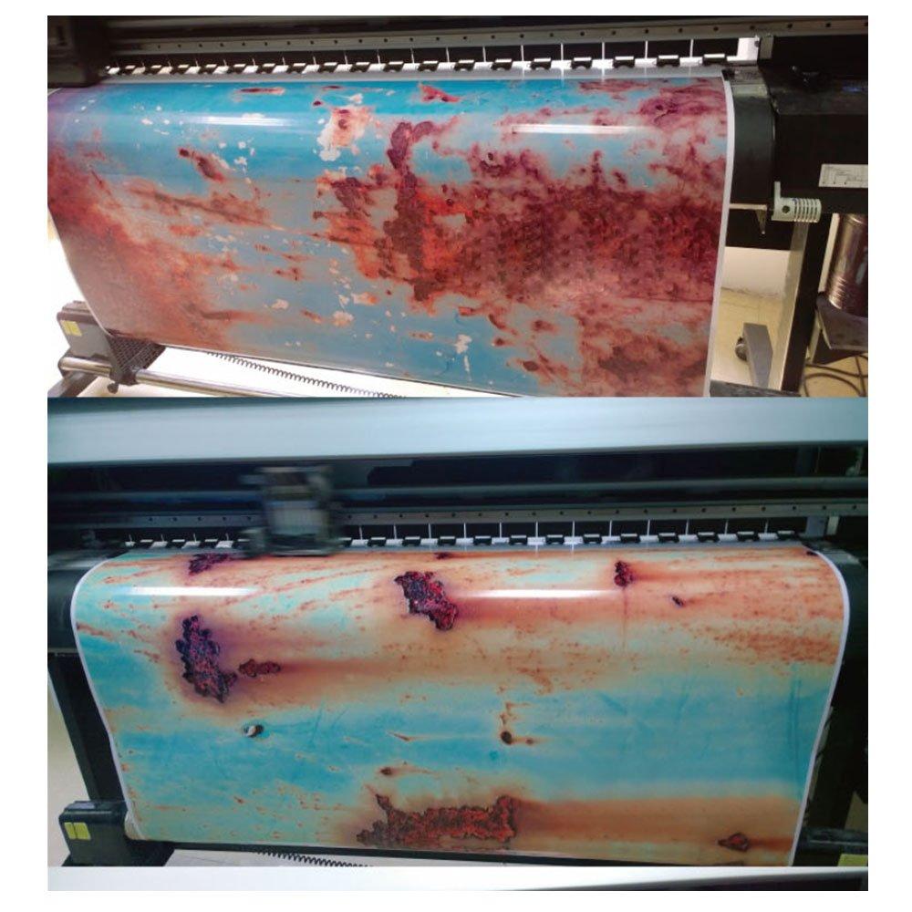 152,4 x 50,8 cm kratzfest als Diebstahlschutz oder f/ür Filmautos HOHO Auto-Vinylfolie in rostigem Design