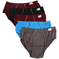 Euro Men's Cotton Briefs - Pack of 5