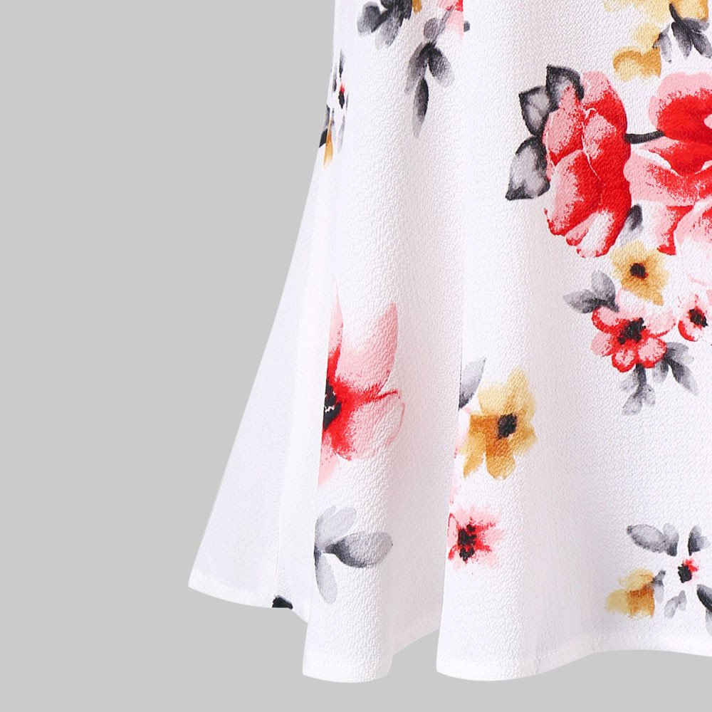 Womens Tops Shirts 2019 Summer Elegant Floral Printing Off The Shoulder Adjustable Spaghetti Strap Tank Tops Blouse
