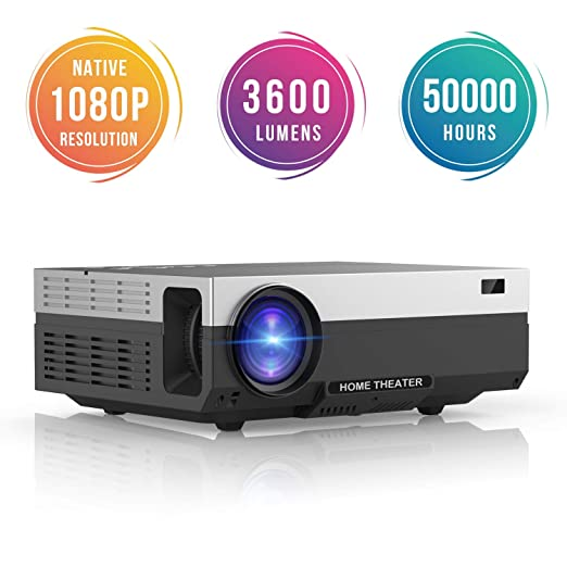 AI LIFE Proyector Full HD Proyector led 1080p resolución nativa ...