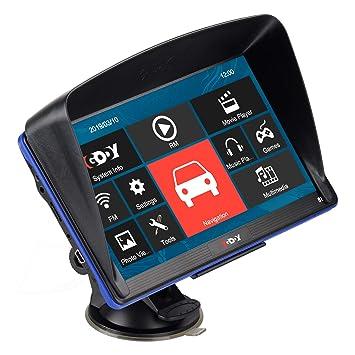 XGODY 886 GPS,Navegador Para Coche -Navegación De 5 Pulgadas ...