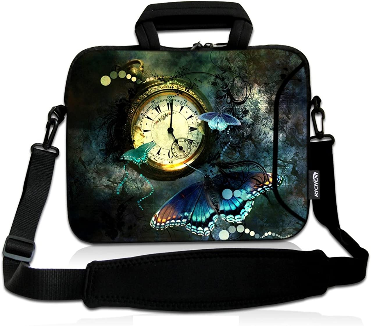 RICHEN 17 inch Laptop Shoulder Bag Carrying Case with Handle Fits 15.6/16/17/17.3/17.4 inch Laptop Notebook