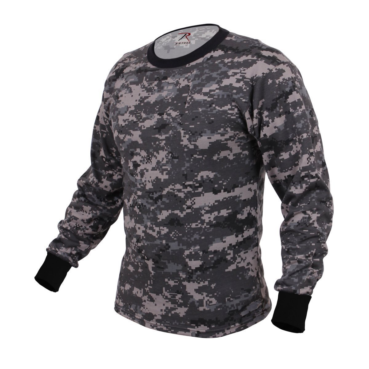 Rothco Long Sleeve Digital Camo T-Shirts, Subdued Urban Digital Camo - 3X Large RSR Group Inc 67782
