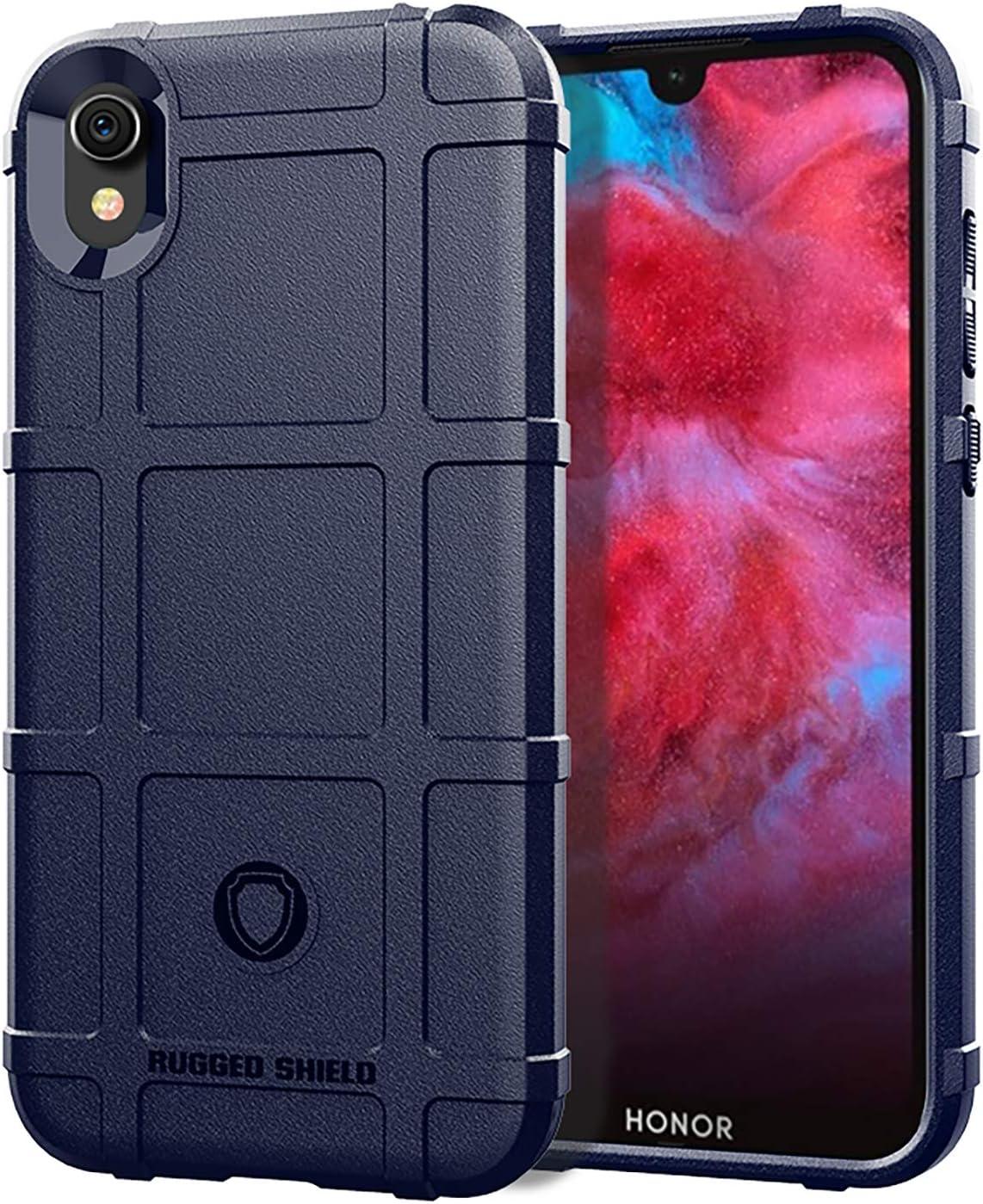 SWMGO® Firmeza y Flexibilidad Smartphone Funda Compatible para Huawei Honor Play 3e(Azul Oscuro): Amazon.es: Electrónica
