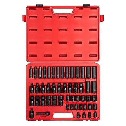 Sunex 3351 3/8-inch UNIDAD Set de llaves de vaso de impacto ...