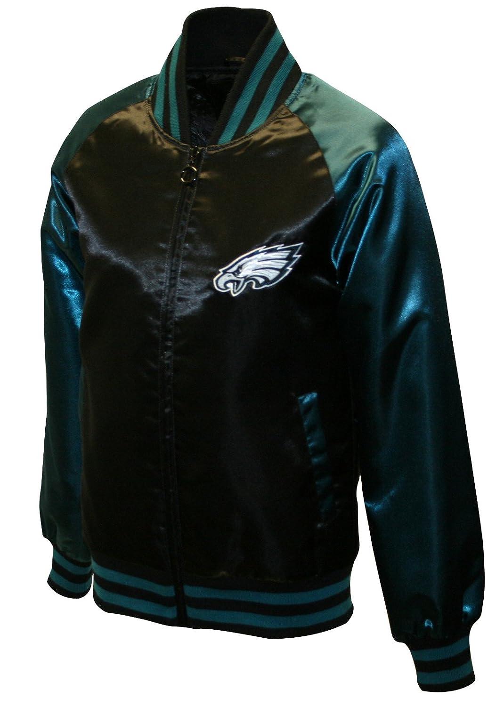829ea10d Amazon.com : NFL Women's Philadelphia Eagles Satin Team Spirit ...