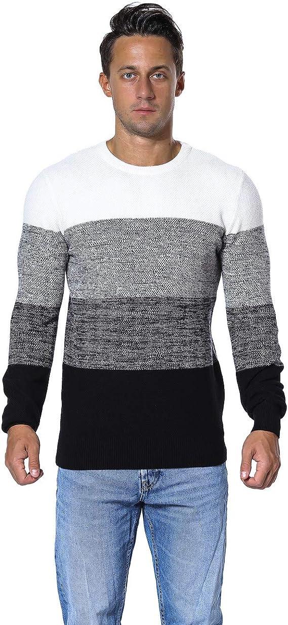 Mens Sweater Casual Slim Fit