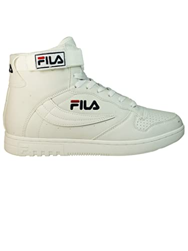 4ed044d798629d Fila Homme 10101521Fg Blanc Cuir Baskets Montantes: Amazon.fr ...