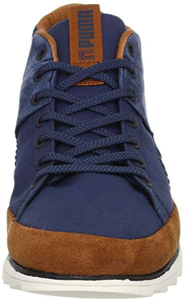 56389c029e0b Puma Wayler Mid 354660 02 Mens suede sneakers   Casual shoes Blue 8 ...