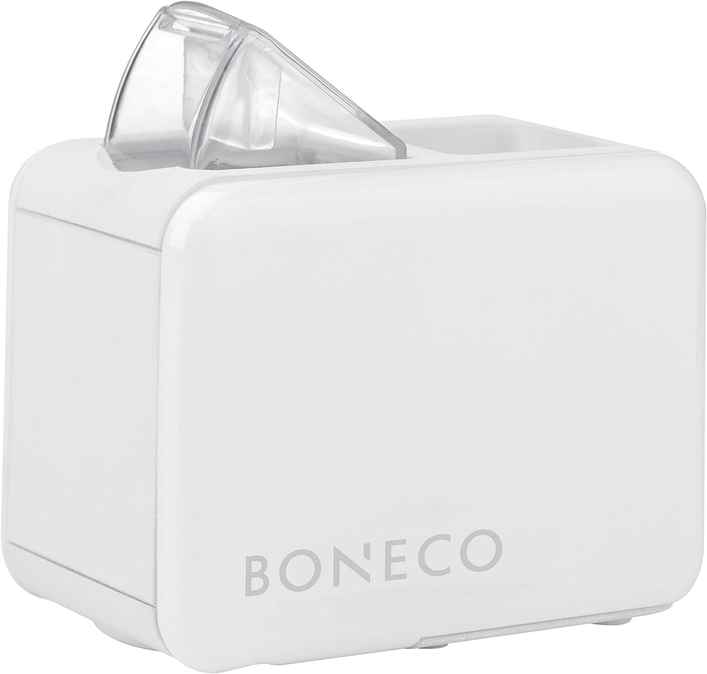 Boneco U7146 Travel Humidifier, 0.5 Litre, 15 W, White, Aluminium