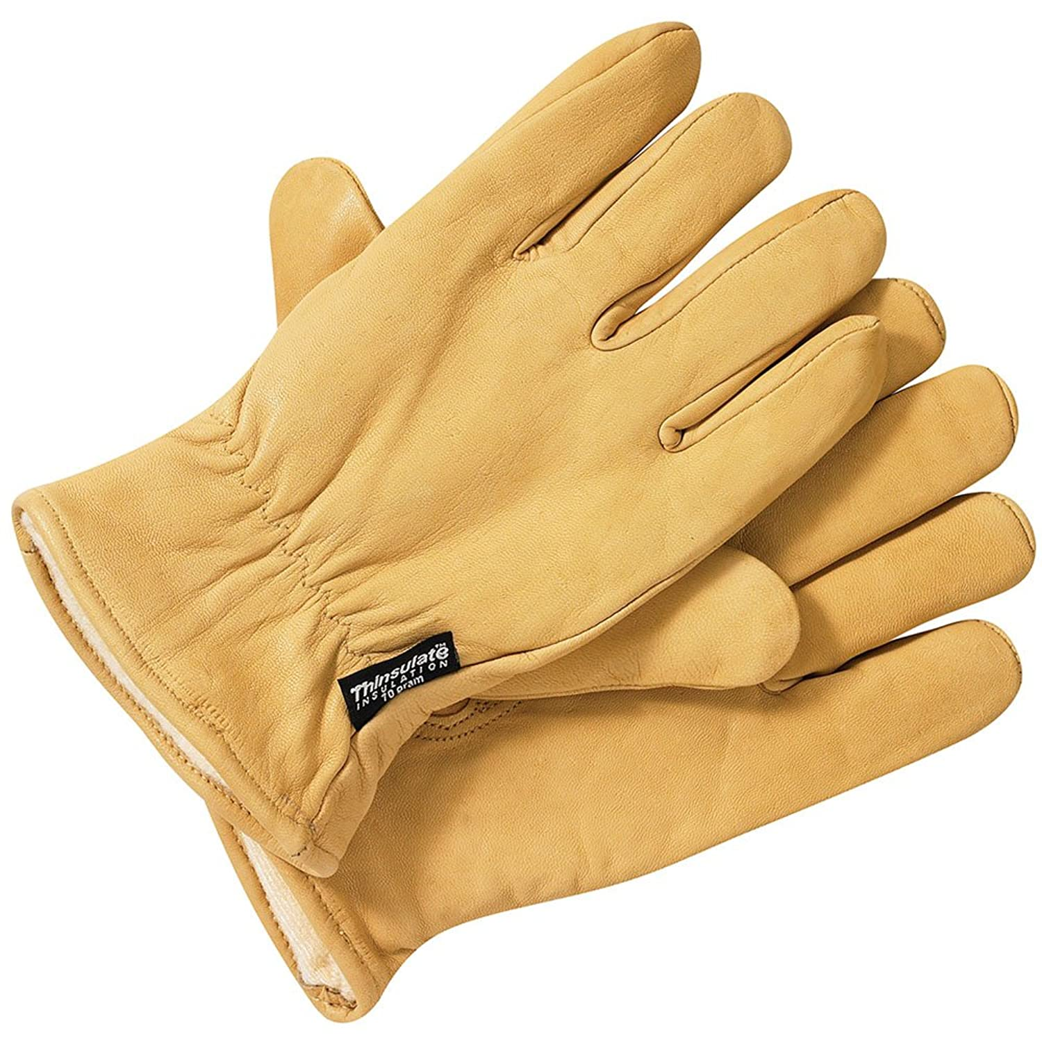 Leather work gloves with thinsulate lining - Leather Work Gloves With Thinsulate Lining 12
