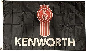 Mountfly Kenworth Trucks Trucking Banner Flag 3X5 Feet Man Cave