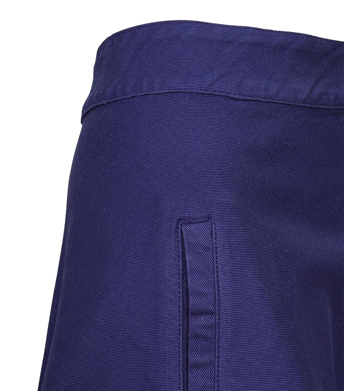 Shoppen Sie MADS NORGAARD Damen Jeansrock Stelly in Blau-Lila auf  Amazon.de:Röcke