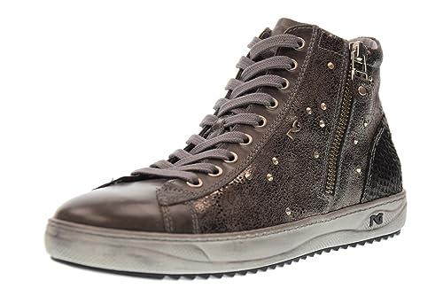 Nero Giardini Scarpe Donna Sneakers Alte A719250D 104 Grafite Antracite  Taglia 40 Grafite Antracite  Amazon.it  Scarpe e borse ff7ef901529