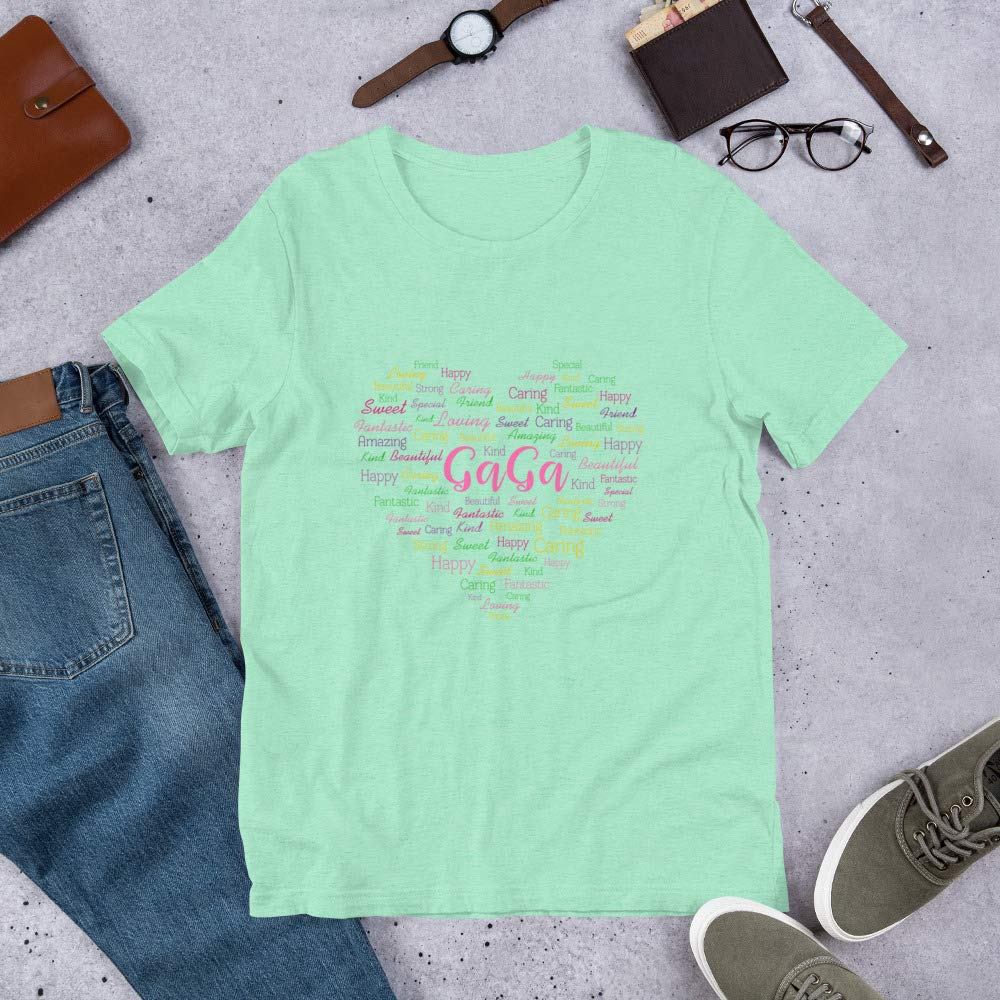 Mothers Day GaGa Shirt Gift for Grandma//Mothers Day Cute Personalized Gift Funny Mother Day T-Shirt