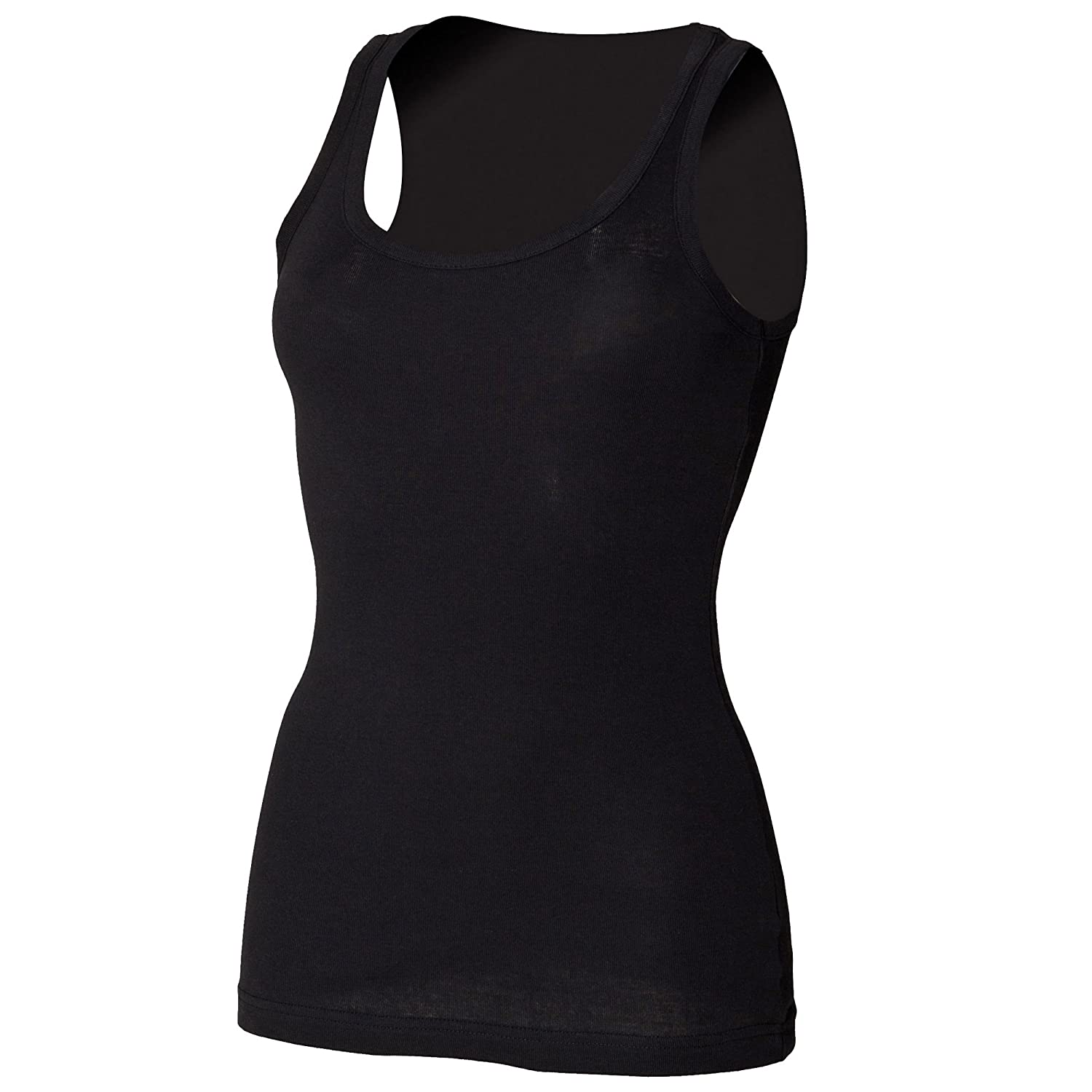 Skinni Fit Women's Rib Tank Top at Amazon Women's Clothing store: Fashion  Vests