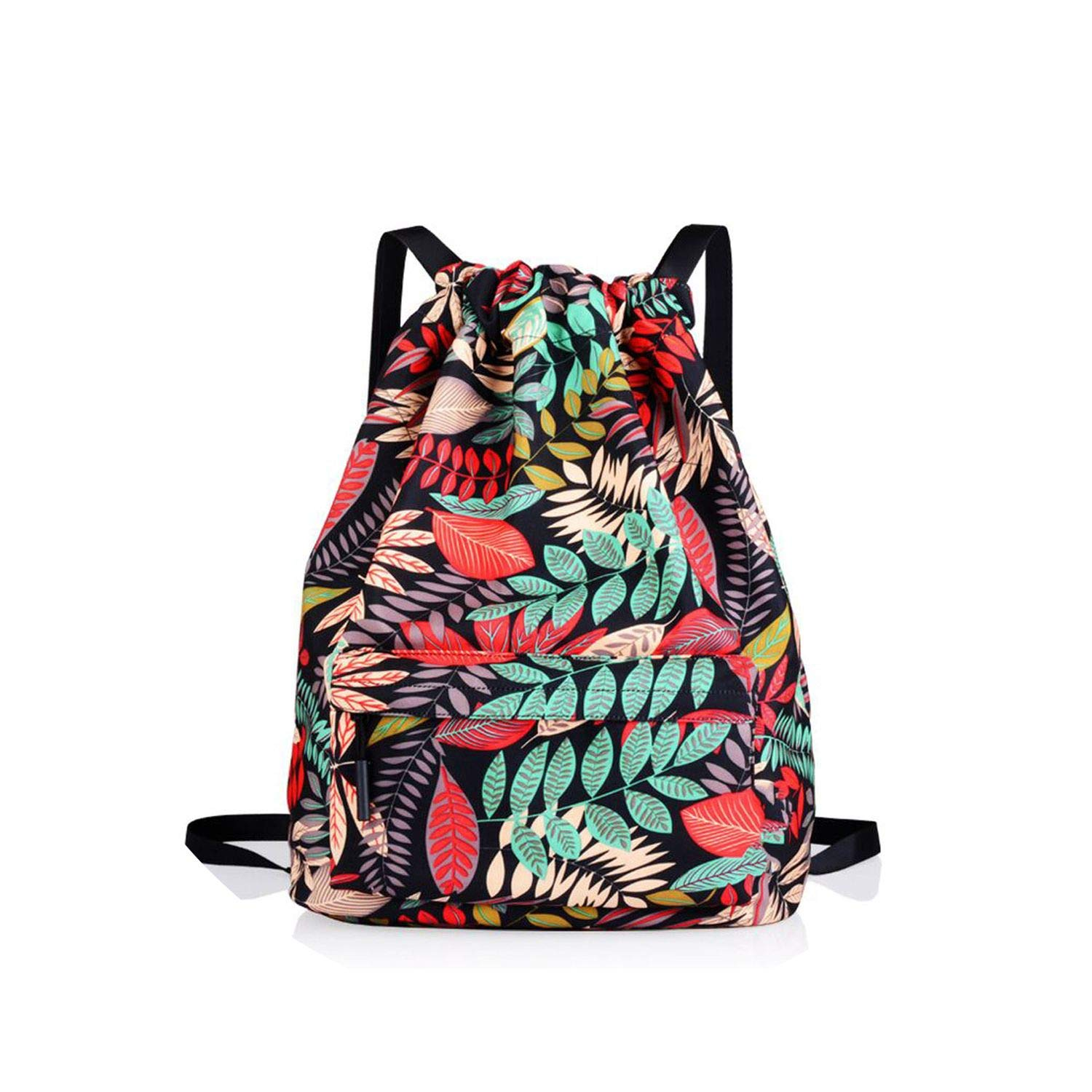 Drawstring Bag Nylon Preppy...