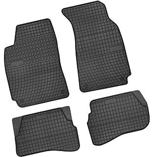 Autoteppiche schwarz Nadelfilz VW Passat 3B-3BG ovale Stopper original Passform