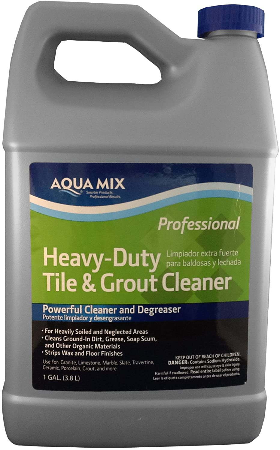 Aqua Mix Heavy Duty Tile and Grout Cleaner - Gallon