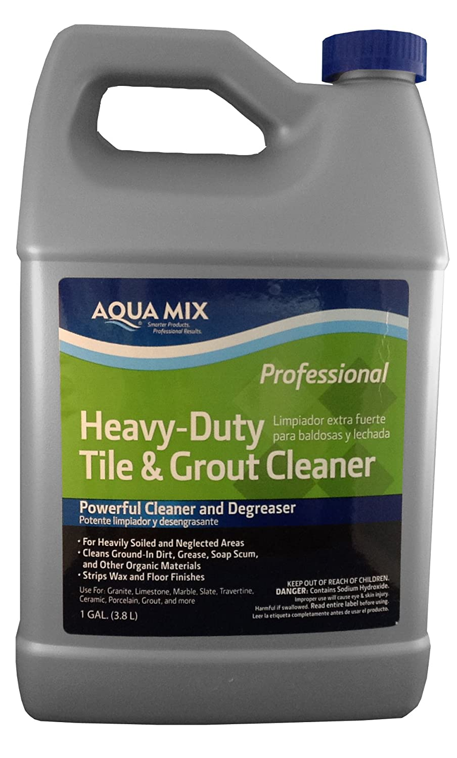 Amazon aqua mix heavy duty tile and grout cleaner gallon amazon aqua mix heavy duty tile and grout cleaner gallon home kitchen dailygadgetfo Image collections