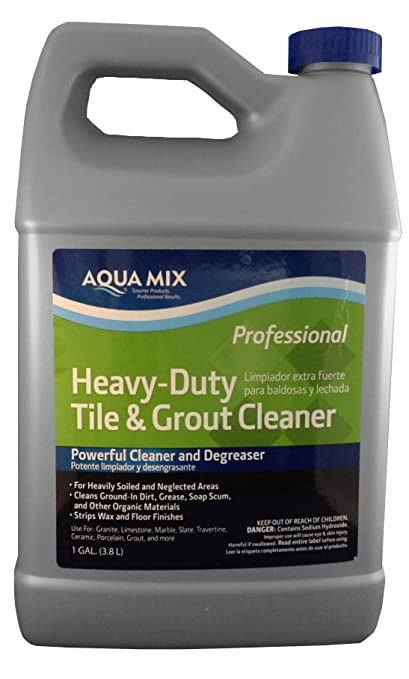 Aqua Mix Heavy Duty Tile And Grout Cleaner   Gallon