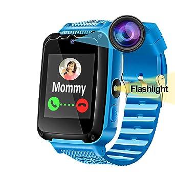 Niños Smartwatch Reloj Inteligente Teléfono con Cámara Llamada ...