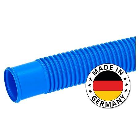 SL247 Poolschlauch 38mm Blau 15m Lang I Schwimmbadschlauch Zum Anschließen der Sandfilterpumpe an Den Pool I Made in Germany