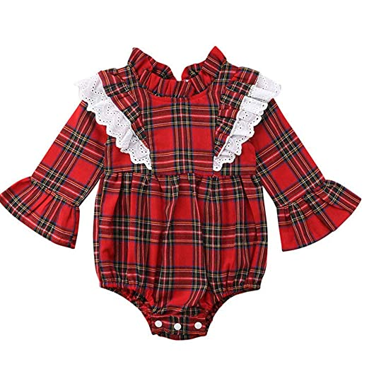 Family Sister Christmas Matching Outfit Baby Girls Long Sleeve Red Plaid  Dress Romper (Bodysuit, - Amazon.com: Family Sister Christmas Matching Outfit Baby Girls Long