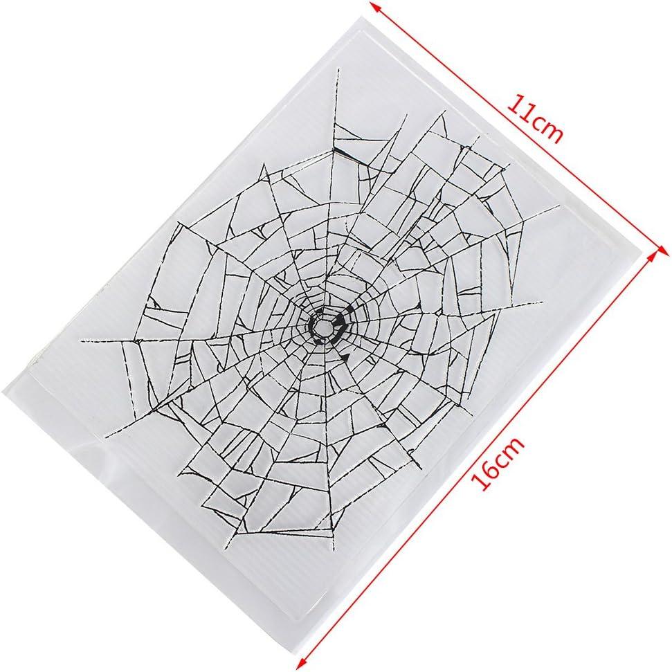 Weishazi Cobweb Transparenter Silikon-Stempel zum Selbstkleben von Tagebuch DIY Scrapbooking Karte