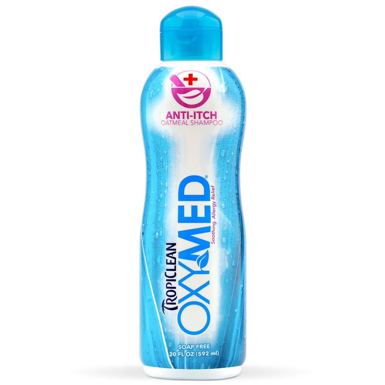 TropiClean OXYMED Anti-itch Pet Shampoo, 20oz