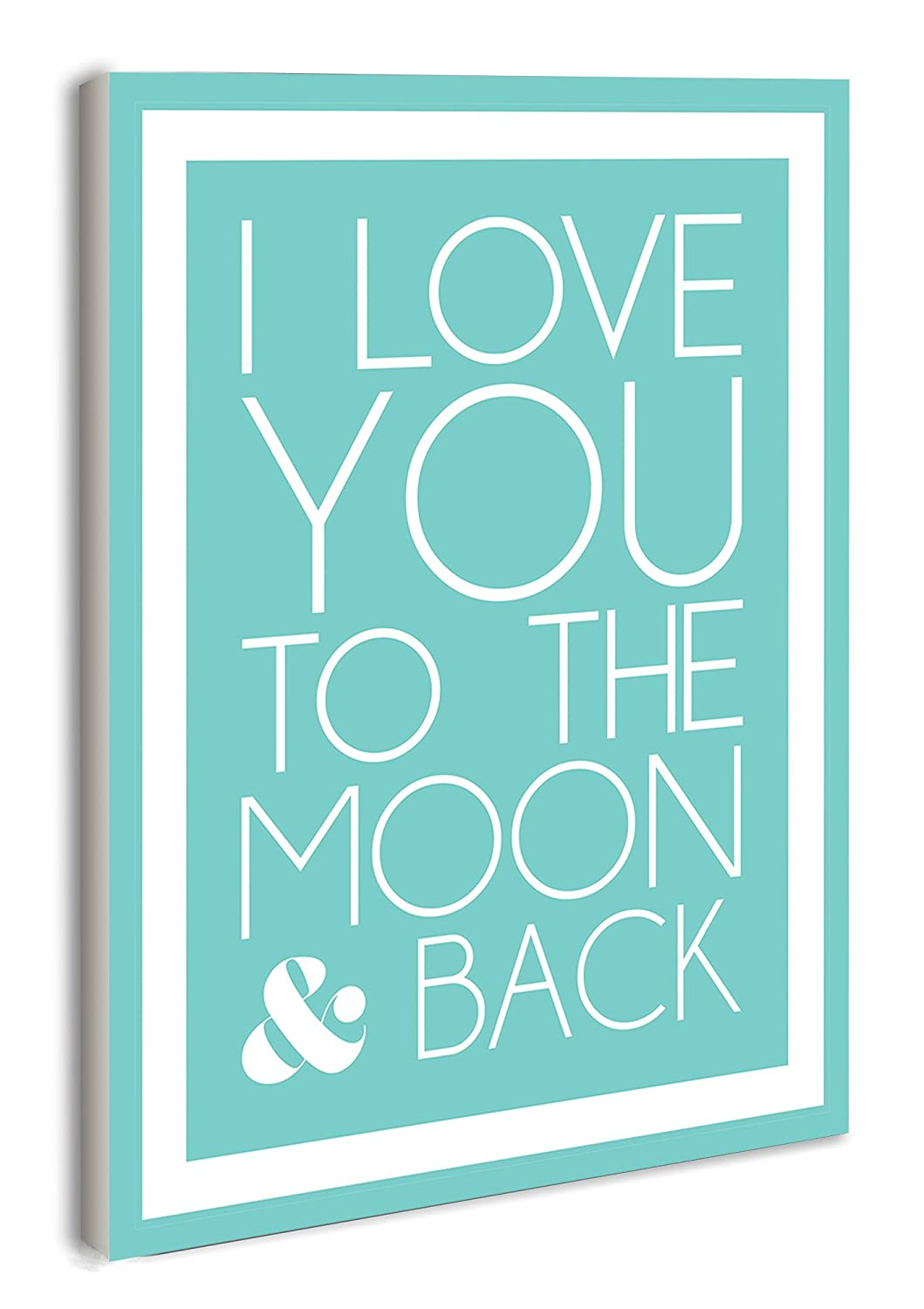 The Kids Room by Stupell I Love You to The Moon and Back Growth Chart